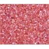 2 Cut Beads Transparent Pink Aurora Borealis 11/0 Natural